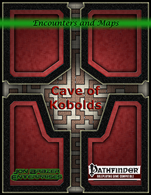 Encounters and Maps: Cave of Kobolds