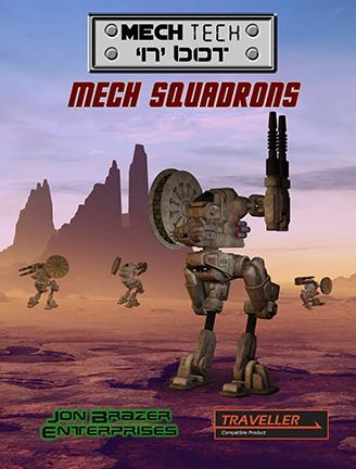 Traveller: Mech Tech 'n' bot: Mech Squadrons in Game Stores