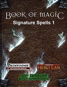 Book of Magic: Signature Spells 1