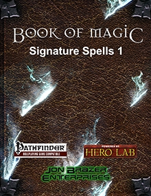 Book of Magic: Signature Spells 1