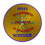 Gaming Genius Awards Winner 2011