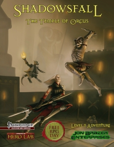 Shadowsfall: Temple Of Orcus (PFRPG)