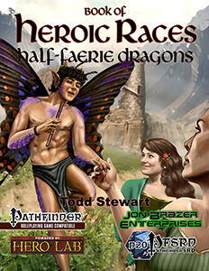 Book of Heroic Races: Half-Faerie Dragons