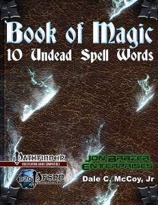 Book of Magic: 10 Undead Spell Words