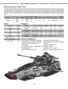 Vehicles Preview - Zhodani Grav Tank