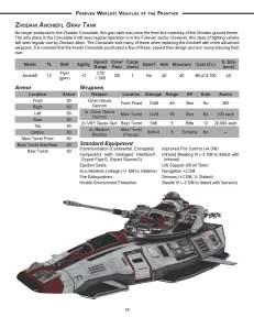 Vehicles Preview - Zhodani Grav Tank