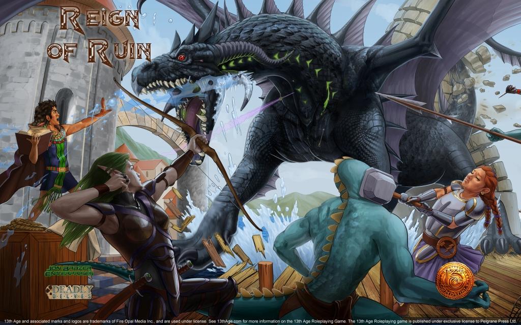Reign of Ruin Wallpaper Widescreen 2