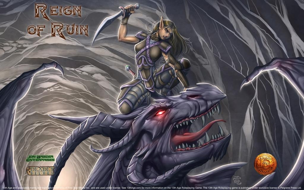 Reign of Ruin Wallpaper Widescreen
