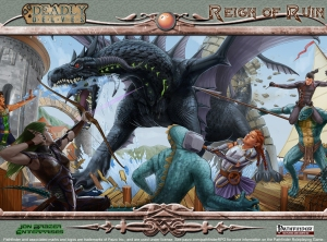 Reign of Ruin PFRPG Wallpaper Standard 2