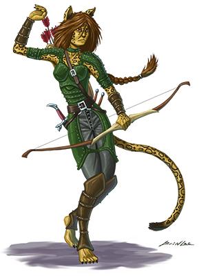 cat girl archer colors