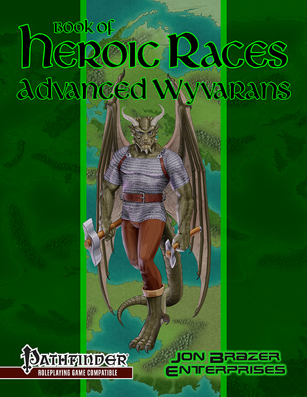 Book of Heroic Races: Advanced Wyvarans (PFRPG)