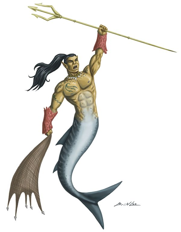 merfolk barbarian
