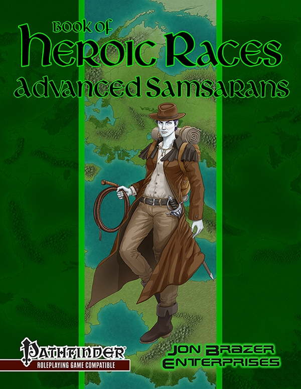 Book of Heroic Races: Advanced Samsarans (PFRPG)