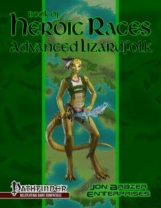 Book of Heroic Races: Advanced Lizardfolk