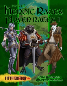 Book of Heroic Races: Player Races 1