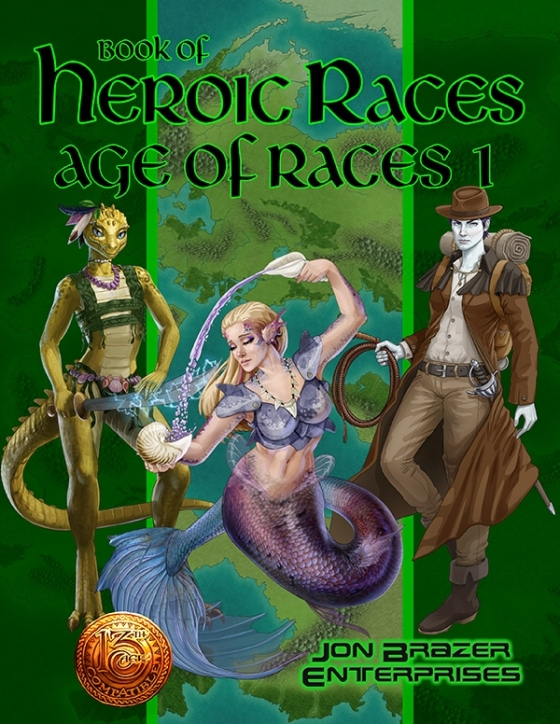 Book of Heroic Races: Age of Ideas 1 (13th Age)