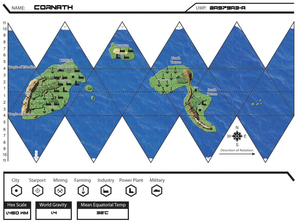 Cornath Map