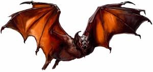 Majestic Bat by Nicole Cardiff