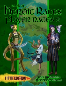 Book of Heroic Races: Player Races 2