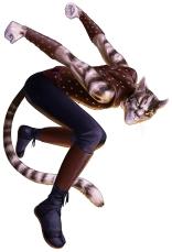 Male Catfolk Ranger Rogue